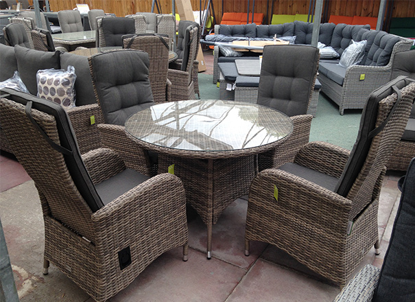 Our reclining dining sets
