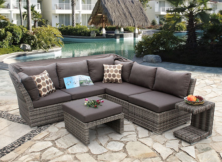 Luxury Reclining Sofa Set