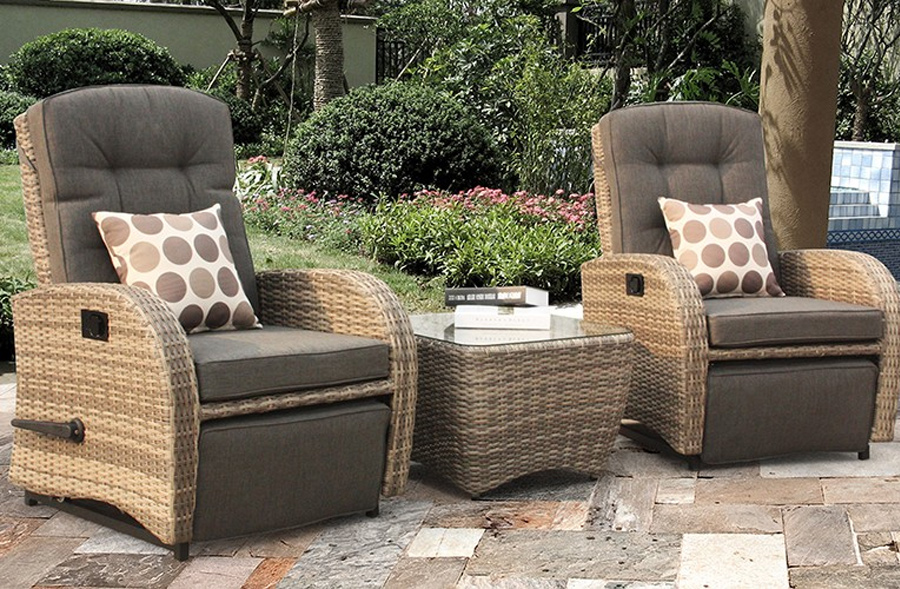 Durable and weatherproof rattan furniture