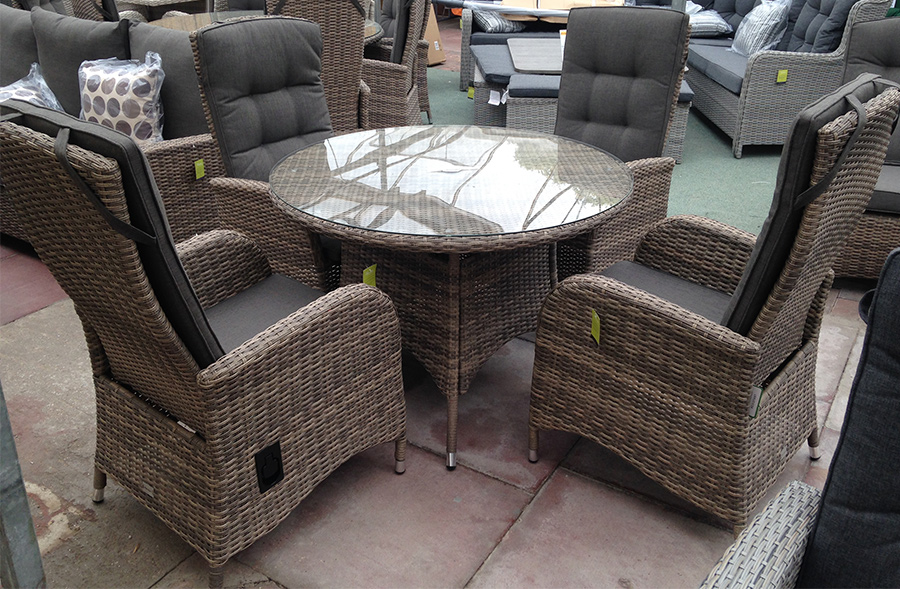 Our reclining dining sets are fantastic
