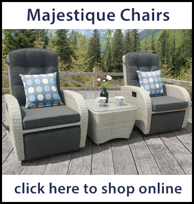 Majestique reclining garden chairs